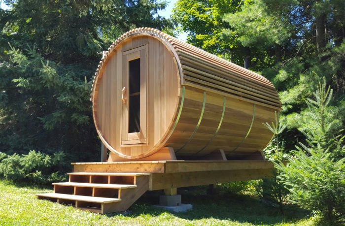 Clear Cedar Barrel Saunas - Image5