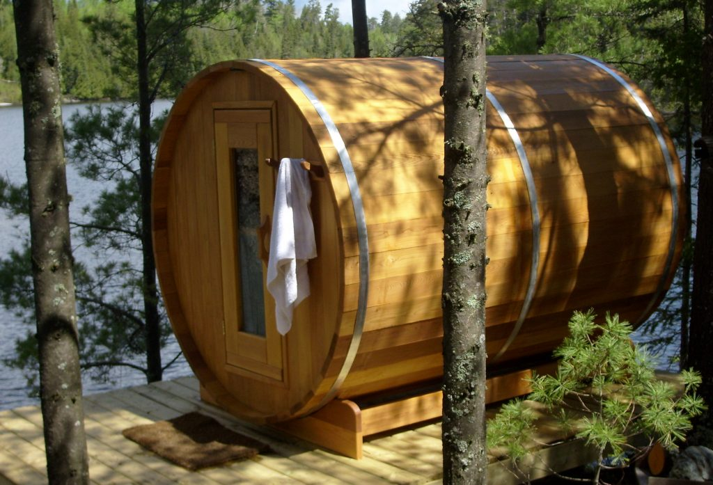 Clear Cedar Barrel Saunas - Image2