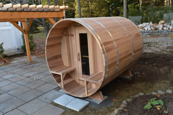 Clear Cedar Barrel Saunas - Image4