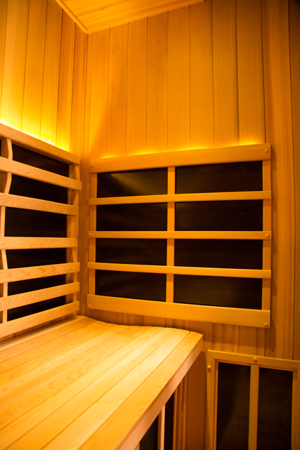 Clearlight Sanctuary 4 Person Corner Sauna - Image5